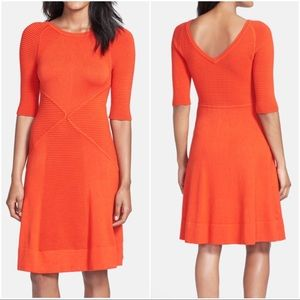 Vince Camuto Dresses & Skirts - Vince Camuto orange knit sweater dress PM