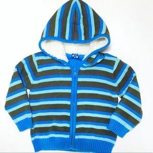 Kickee Pants Other - Kickee Pants River Stripe Hoodie Sweater