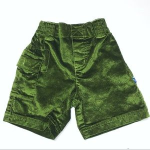 Kickee Pants Other - Kickee Pants Green Bamboo Corduroy Shorts