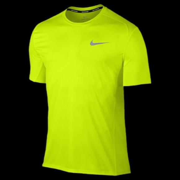 f4c3223b Nike Shirts | Last Onemens Dri Fit Running Miler Tee | Poshmark