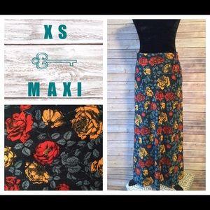 LuLaRoe Dresses & Skirts - XS Floral Lularoe Maxi Skirt