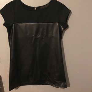 Black Short Sleeve Shirt. Size XS. The Limited
