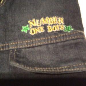 4 pair!Bundled! Bundle of Toddler boy jeans.