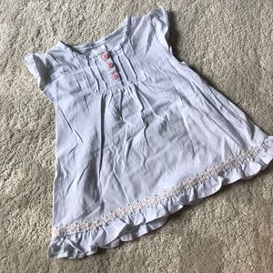 Other - Young Hearts Babydoll Cotton Shirt