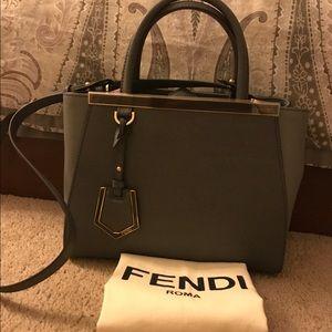 Fendi Handbags - AUTHENTIC Fendi Petite 2jours