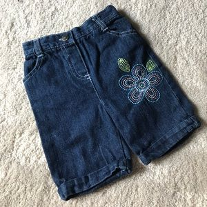Other - 🌺NWOT🌺Young Hearts Blue Denim Embroidered Pants