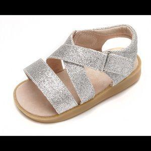Mooshu Trainers Glitter Sandals
