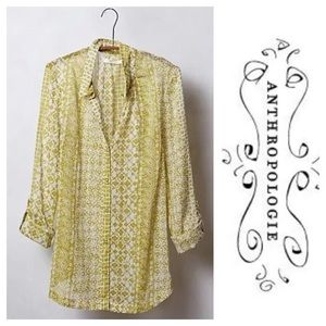 Anthropologie Hei Hei Daytrip Buttondown Sz. S