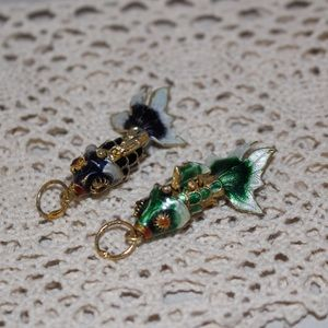 Jewelry - Fish Charms for Necklace or Bracelet