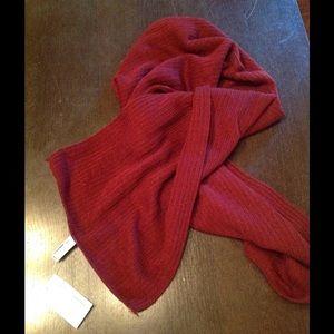 AA lumberjack soft scarf in wine💕
