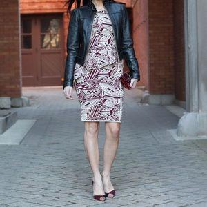Eva Longoria Dresses - Eva Longoria side peplum dress.