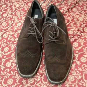 JOSEPH ABBOUD  Other - JOSEPH ABBOUD MENS BROWN SUEDE WING TIP OXFORDS