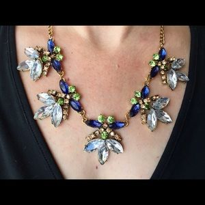 Bedecked & Bedazzled Jewelry - Firefly Crystal Statement Necklace