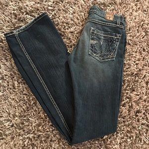 BKE Denim - BKE Denim MYA Jeans Stretch Women's Faded Sexy