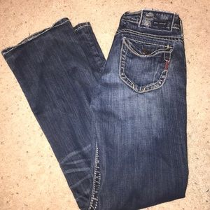 MEK Denim - MEK denim USA 26/32 boot cut demin blue jeans