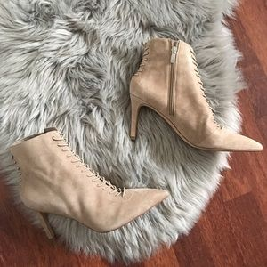 Kendall & Kylie Shoes - Kendall & Kylie Liza suede pointy bootie