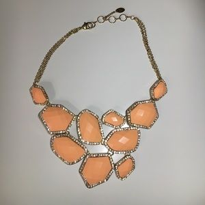 Amrita Singh Jewelry - Amrita Singh Easter Island Necklace in peach