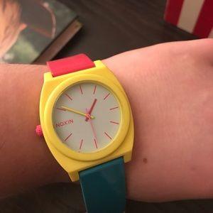 Nixon Accessories - Nixon color block watch