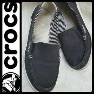 CROCS Shoes - Crocs Canvas Boat Shoes