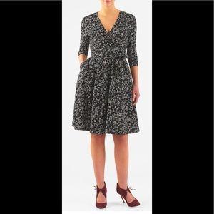 eshakti Dresses & Skirts - New Eshakti Star Fit & Flare Wrap Dress 20W