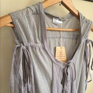 Monoreno Tops - Boutique Cardigan Tank
