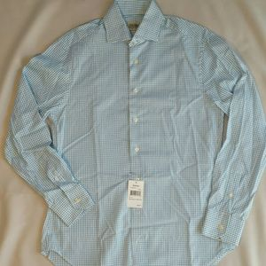 Gitman Brothers Other - Gitman Bros. White and blue checked button shirt