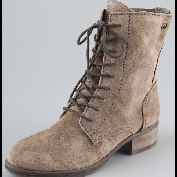 278e78ccb585b Sam Edelman Karla suede combat boots. M 58eaff2a99086a57530082cb