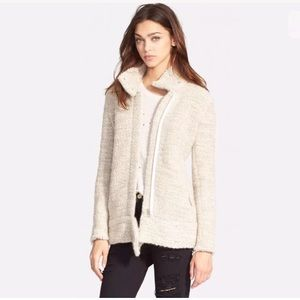 IRO Jackets & Blazers - NWT $700 IRO Ajuma Chunky Knit Moto Jacket