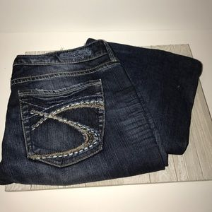 Silver eden boot cut jeans