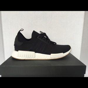 adidas schuhe nmd r1 schwarzen gummi sole poshmark