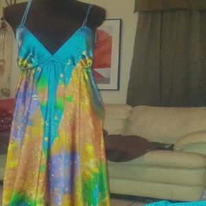 Sol Angeles Dresses & Skirts - Satin Maxi Dress ----ACCEPTING REASONABLE OFFERS