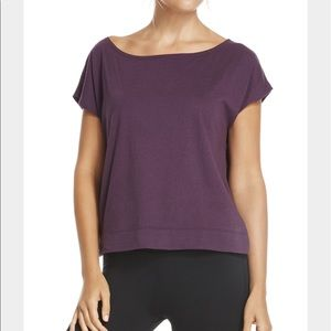 Fabletics Tops - FREE WITH BUNDLE Fabletics boxy purple tee