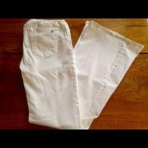 JOE's Jeans maternity white flare