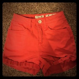 Pants - High waisted Red Shorts ✌️