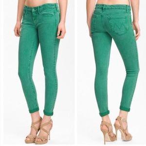 MOTHER Denim - MOTHER The Looker Lemon Grass Skinny Jeans