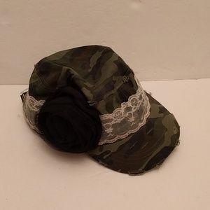 KBETHOS Accessories - Kbethos original vintage camo lace hat