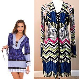 Analili Dresses & Skirts - ANALILI Tunic Dress lace-up M