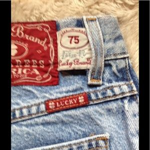 Vintage Lucky mom jeans
