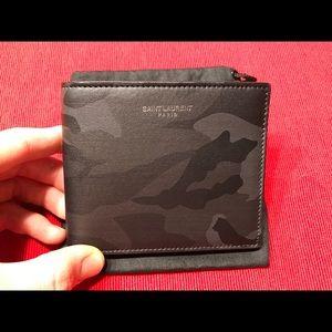 e1744c8ce8c Saint Laurent Accessories - Brand New SAINT LAURENT camouflage bifold wallet