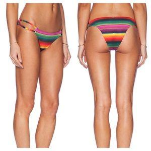 Pilyq Other - PilyQ Gemini Teeny Rainbow Bikini Bottom M