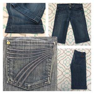 "7 For All Mankind Pants - 💙👖Very Cute 7FAM Dojo Jean Shorts👖💙28 5/6 15"""