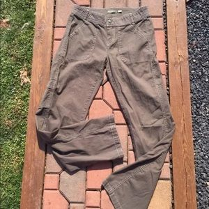 Prana Pants - Prana Organic Cotton Brown Hiking Pants Size 4
