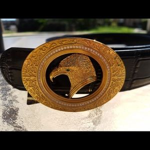 Stefano Ricci Other - New Auth Stefano Ricci Classical Art Golden belt