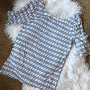 LAST CHANCE! Donating!  Banana Republic Stripe Top