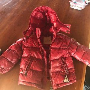Moncler Other - Moncler toddler red jacket