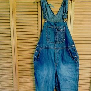 98c9486728173 Old Navy Jeans | Maternity Denim Overalls | Poshmark