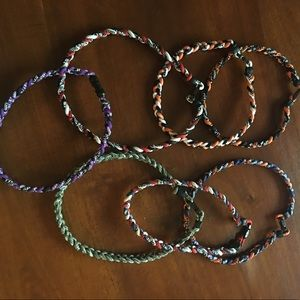 Titanium Other - Lot of 7 boys titanium baseball necklaces