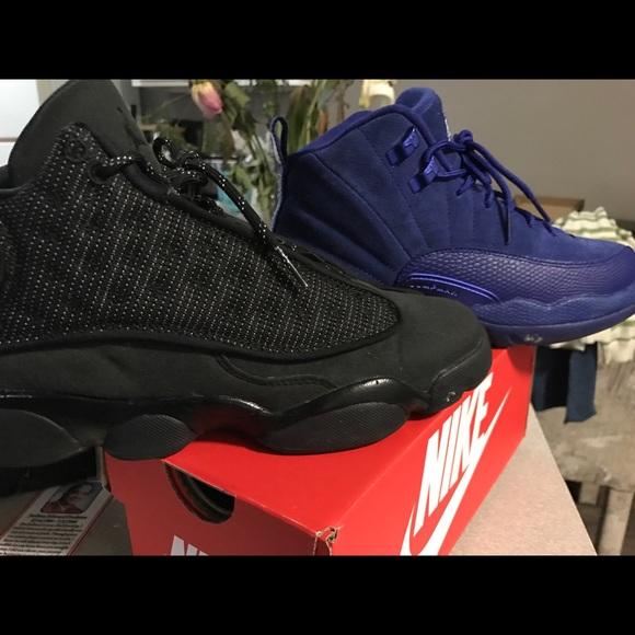 premium selection 21419 ca67b Royal blue Jordan 12 250 black 13s 200