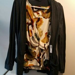 Ivanka Trump Tops - CLEAR OUT! Ivanka Trump Blouse and a Cardigan