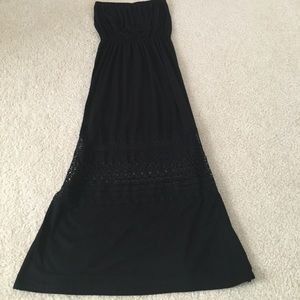 Black maxi dress. Never worn